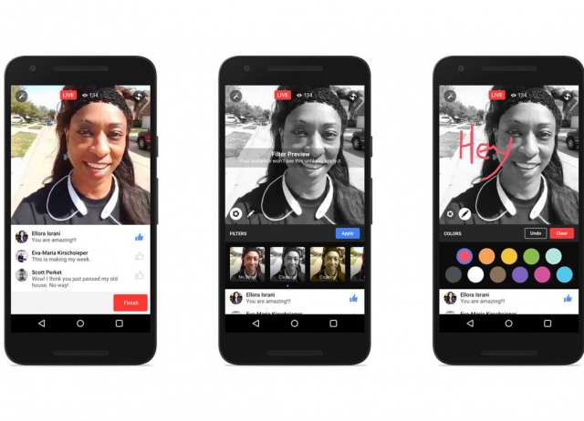 Facebook Live estará disponible de forma paulatina.